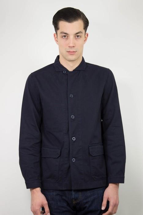 Arpenteur | Mayenne Jacket (Sergé) | Men's style | Scoop.it