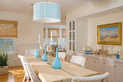 COASTAL STYLE: 5 TIPS FOR BRINGING THE BEACH INTO YOUR HOME. | Interior Design | Scoop.it
