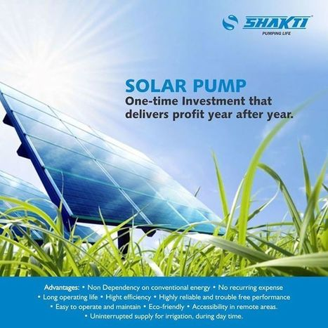 Latest technology for the best discharge | Water Pumps Manufacturers | Scoop.it