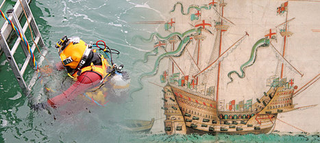 Divers return to wrecksite of the Mary Rose | photography, Archaeology, | Scoop.it
