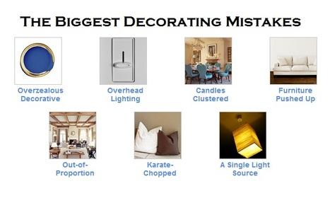 Top Decorating Mistakes | Best of Interior Design | Scoop.it