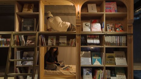 In Tokyo's library-hotel, guests sleep in the bookshelves | LibraryLinks LiensBiblio | Scoop.it