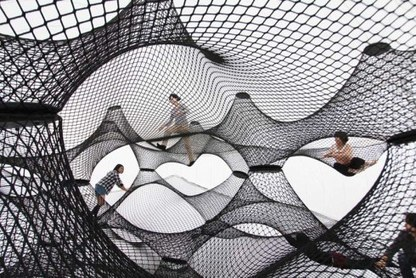 Net Blow-Up Yokohama: An Inflatable, Interactive Structure   Business Initiatives   Scoop.it