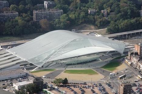 [Liège, Belgique] Calatrava a semé, Greisch à fait éclore la gare des Guillemins » | The Architecture of the City | Scoop.it