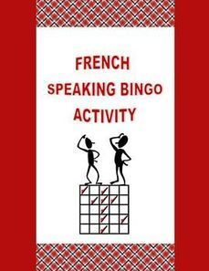 French Speaking Bingo Activity | French Resources to Download and Print | Scoop.it