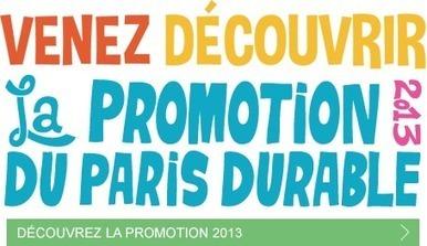 La Promotion 2013 du Paris durable : 11 actions exemplaires et inspirantes | Initiatives d'avenir | Scoop.it