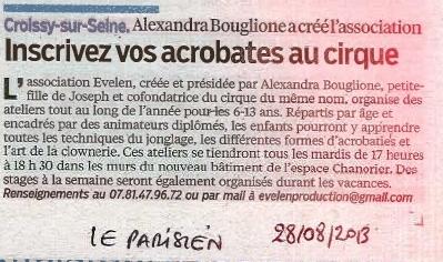 Profitez du forum des associations pour vous inscrire au stand de TACC   Croissy sur Seine   Scoop.it