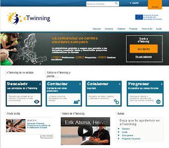 En la nube TIC: eTwinning regresa con un portal renovado   Las TIC y la Educación   Scoop.it