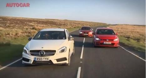 Comparatif : Mercedes A45 AMG vs BMW M135i vs Golf GTI   Auto , mécaniques et sport automobiles   Scoop.it