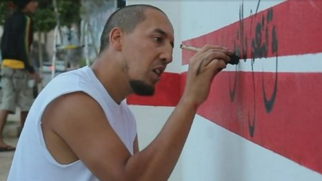 Tunisia's street artist | The wonderful world: regional geography | Scoop.it