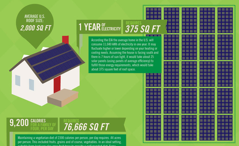 How Much Solar Do You Need [Graphic]   green infographics   Scoop.it