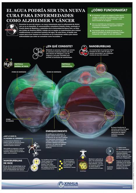 #Infografia: el agua podría ser una nueva cura para enfermedades como cáncer o alzheimer | Comunicación, Conocimiento y Cultura del Agua | Scoop.it