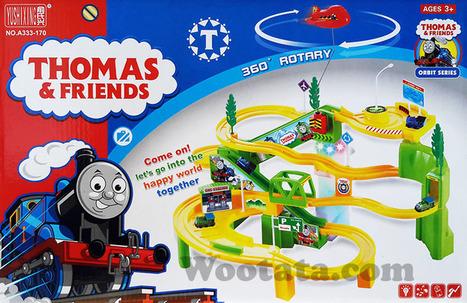 Mainan Track Thomas and Friends Orbit Series | Toko Mainan Anak Online | Scoop.it