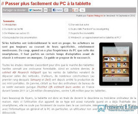 Le site du jour : Passer plus facilement du PC à la tablette | mlearn | Scoop.it