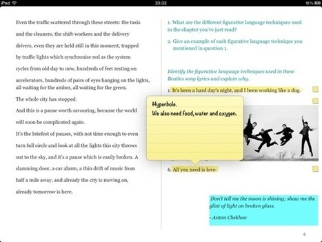 Worksheets in iBook | ipadders.eu | The Classroom iPad Library | Scoop.it