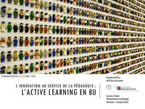 Journée d'étude Médiadix : l'active learning en BU | La vie des BibliothèqueS | Scoop.it
