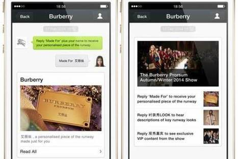 Burberry Creates Custom Fashion Show For Fans Via Instant Messages [VIdeo] - PSFK | Experience Retail | Scoop.it