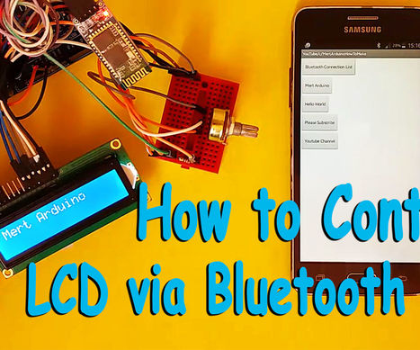 Arduino : How to control an LCD via Bluetooth | Arduino, Netduino, Rasperry Pi! | Scoop.it