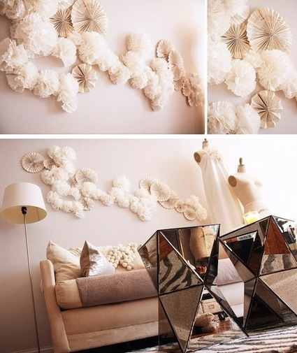 5 Inspiring DIY Paper Wall Art Ideas for your Home | Home Staging, Home Organizing & Family Solutions, Stagetecture, LLC | Real Estate | Scoop.it