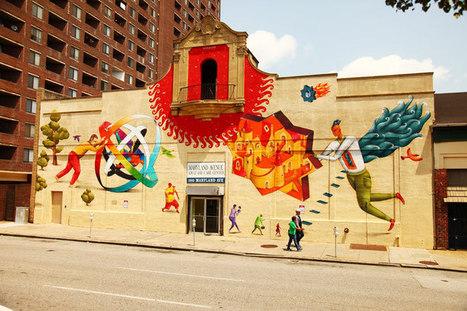 The Power of Color via Street Art, Graffiti, and Murals - Brooklyn Street Art | Art Education | Scoop.it