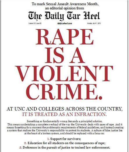 University of North Carolina Faces Backlash For Its Mistreatment Of Sexual Assault Victims   Activism, society and multiculturalism   Scoop.it