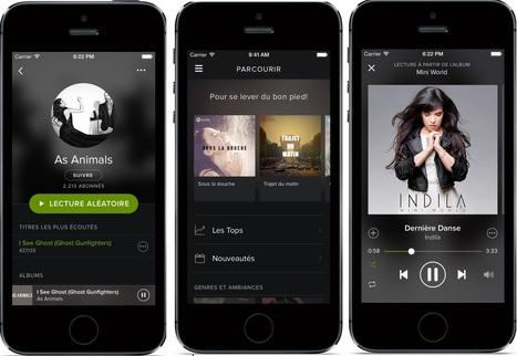 Spotify Free Illimite pour Android | Programmes gratuits et sites pratiques | Scoop.it