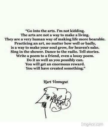 Go into the arts... | Create! Words or Otherwise | Scoop.it