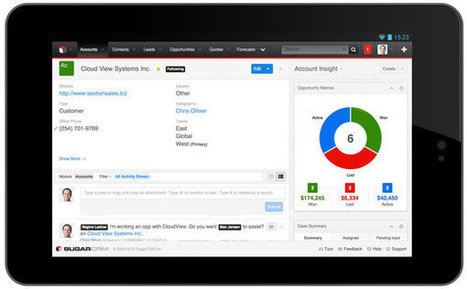SugarCRM's New CRM Experience Focuses on Individuals   SugarCRM Development   Scoop.it