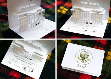 Pop Up Christmas Card from White House | helloodesigner | Hello Designer | Scoop.it