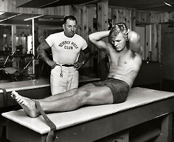 Tab Hunter Stapped In For Sit Ups | Sex History | Scoop.it