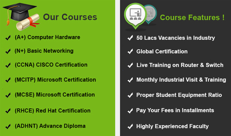 Computer Hardware and Networking Training Course Institutes | laptop repairing institute | Scoop.it