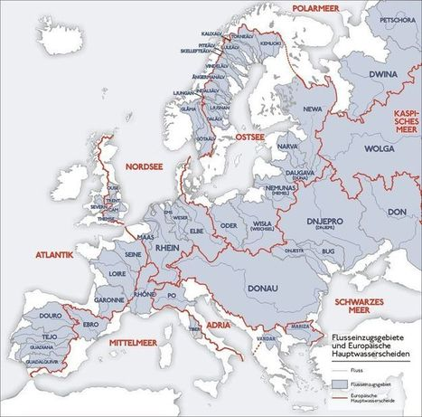 Interesting Maps | Catchment studies in geography | Scoop.it