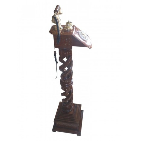 Wooden Landline Telephone Fully Working | Ca 20 | Centenarian Art Crafts Buy Online Free Shipping Cod Onlineshoppee Buy Online Wooden Products | Onlineshoppee | Scoop.it