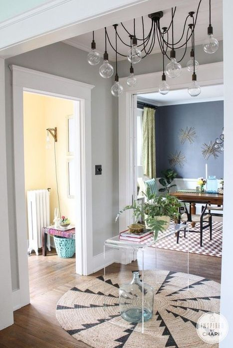 loving the dark walls - evolve design build | interior design | Scoop.it