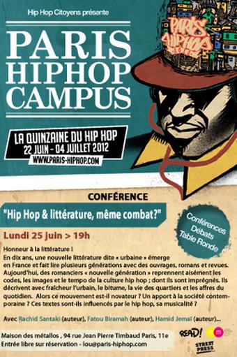 Paris Hip-Hop Campus: La littérature hip-hop | Les femmes et le hip-hop | Scoop.it