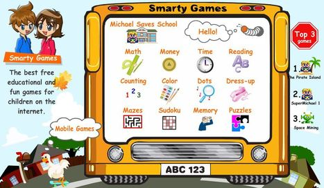 Free Kids Games, Math & Reading for Children | Education Matters - (tech and non-tech) | Scoop.it
