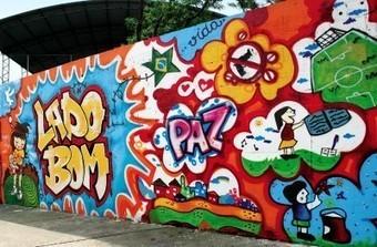 Grafite. A Arte do Grafite - Brasil Escola   ARTE DE RUA   Scoop.it