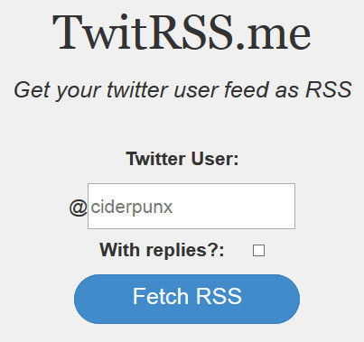 TwitRSS.me: create a RSS feed of a Twitter user feed | RSS Circus : veille stratégique, intelligence économique, curation, publication, Web 2.0 | Scoop.it
