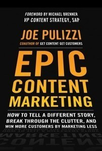 """7 Disruptions That Occurred While I Book Reviewed """"Epic Content Marketing""""   Tasty Content Bites   Scoop.it"""
