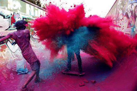Juxtapoz Magazine - Skate Color Explosion   Street Art   Fotografía general   Scoop.it