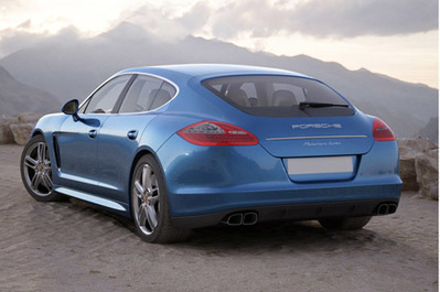 Porsche Panamera voiture 3D | 3D Library | Scoop.it