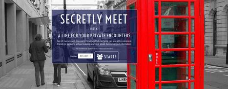 SecretlyMeet.me - Pour vos rencontres confidentielles   #Médias numériques, #Knowledge Management, #Veille, #Pédagogie, #Informal learning, #Design informationnel,# Prospective métiers   Scoop.it