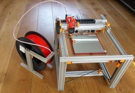 3ders.org - Introducing Cartesio CNC/3D printer kit | 3D Printing news | DigitAG& journal | Scoop.it