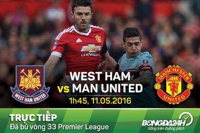 Trực tiếp West Ham vs MU diễn ra vào 01h45 hôm nay 11/05   Trang tin tức   Scoop.it