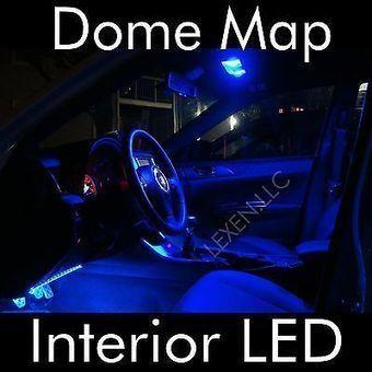 LED B2 BLUE 2X DOME MAP INTERIOR LIGHT BULBS 12 SMD PANEL XENON HID LAMP d | Edge lighting | Scoop.it