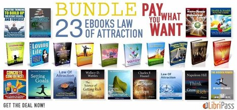 Law Of Attraction Ebooks Bundle - Pay What You Want | Ebooks Collection | Scoop.it
