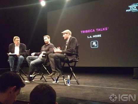 L.A. Noire First Game to Play Tribeca Film Festival | Database-Software Cinema: Cinema Rebooted | Scoop.it