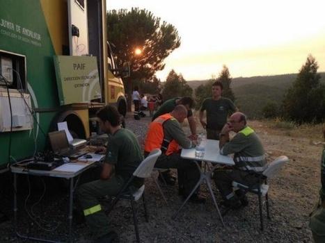 Diario de Huelva - El incendio ya no supone un riesgo para la población de Mina Concepción | Incendios forestales | Scoop.it