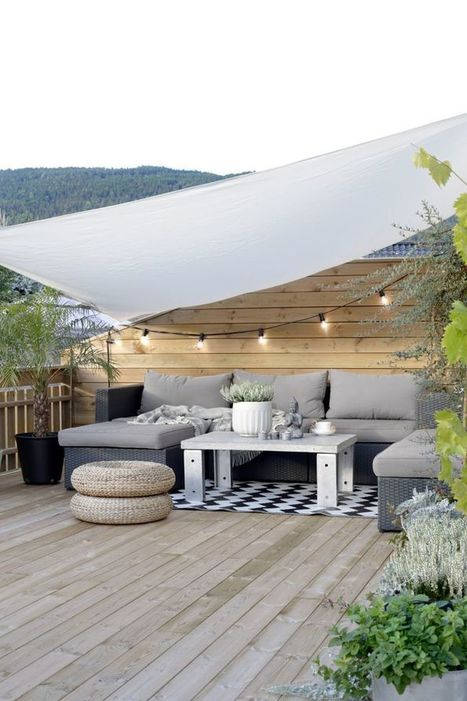 10 terrasses ombragées pour s'inspirer | Immobilier | Scoop.it