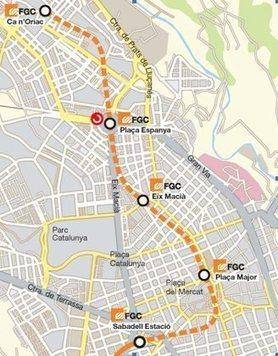 Adjudicada la señalizacion de la prolongación de FGC en Sabadell | #territori | Scoop.it